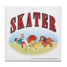 Skater Tile Coaster