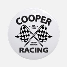 Cooper Racing Ornament (Round)