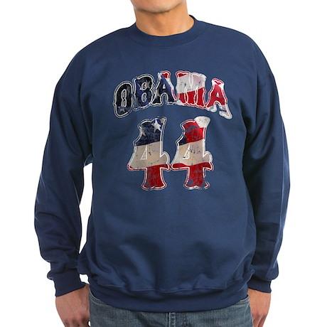 Barack Obama 44th President Sweatshirt (dark)
