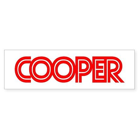 Cooper - Bumper Sticker
