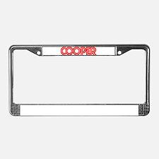 Cooper - License Plate Frame