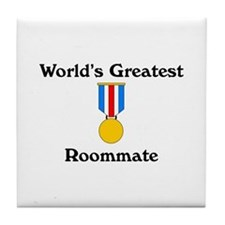 WG Roommate Tile Coaster