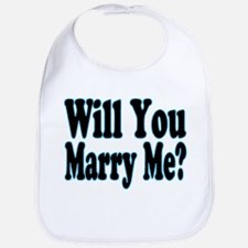 Will You Marry Me? His Bib