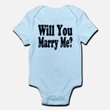 Will You Marry Me? His Infant Bodysuit