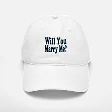 Will You Marry Me? His Baseball Baseball Cap
