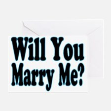Will You Marry Me? His Greeting Card