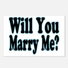 Will You Marry Me? His Postcards (Package of 8)