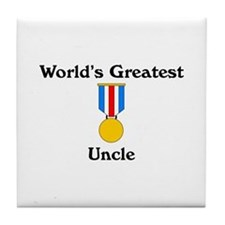 WG Uncle Tile Coaster