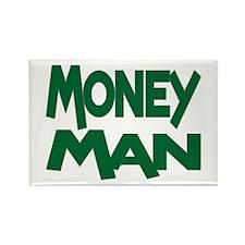 Money Man Rectangle Magnet (100 pack)