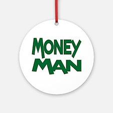 Money Man Ornament (Round)