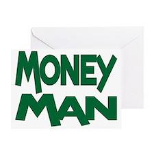 Money Man Greeting Card