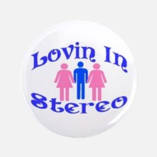 """Man Stereo 3.5"""" Button (100 pack)"""