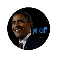 "got cool? 3.5"" Button (100 pack)"