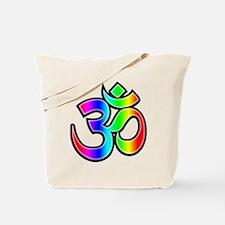 Om - Rainbow Tote Bag