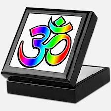 Om - Rainbow Keepsake Box