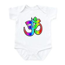 Om - Rainbow Infant Bodysuit