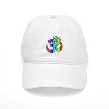 Om - Rainbow Baseball Cap