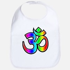 Om - Rainbow Bib