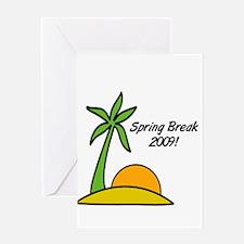 Spring Break 2009 Greeting Card