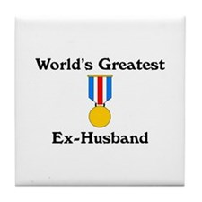 WG Ex-Husband Tile Coaster
