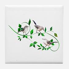 Mockingbirds Tile Coaster