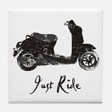 Just Scoot Tile Coaster