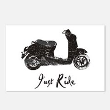 Just Scoot Postcards (Package of 8)