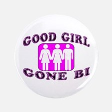 "Good Girl Gone Bi 3.5"" Button (100 pack)"