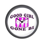Good Girl Gone Bi Wall Clock