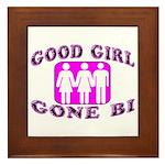 Good Girl Gone Bi Framed Tile