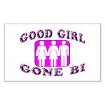 Good Girl Gone Bi Rectangle Sticker 10 pk)