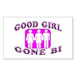 Good Girl Gone Bi Rectangle Sticker 50 pk)