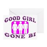 Good Girl Gone Bi Greeting Cards (Pk of 10)