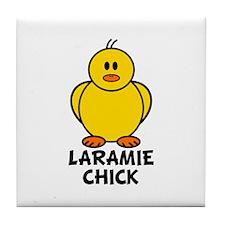 Laramie Chick Tile Coaster