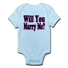 Will You Marry Me? Hers Infant Bodysuit