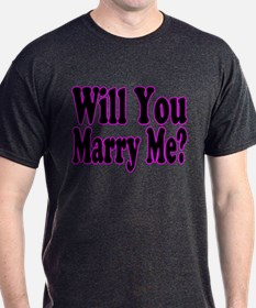 Will You Marry Me? Hers T-Shirt