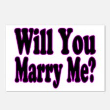 Will You Marry Me? Hers Postcards (Package of 8)
