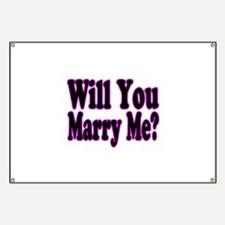Will You Marry Me? Hers Banner
