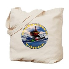 Extreme Tahoe Snowboarder Tote Bag
