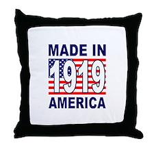 1919 Throw Pillow