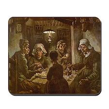 Van Gogh Potato Eaters Mousepad