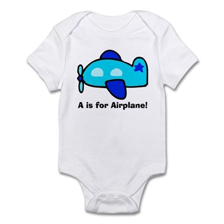 A is for Airplane! Infant Bodysuit