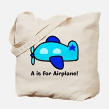 A is for Airplane! Tote Bag