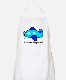 A is for Airplane! BBQ Apron