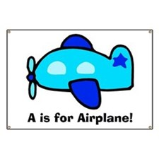A is for Airplane! Banner