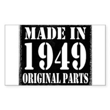 1949 Rectangle Decal