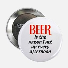 Beer is the Reason Button
