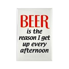 Beer is the Reason Rectangle Magnet