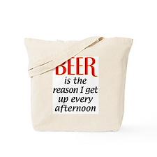 Beer is the Reason Tote Bag