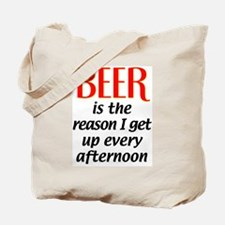 Beer is the Reason Tote Bag